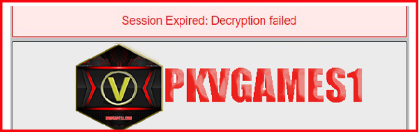 Sessionexpired daftar pkv games